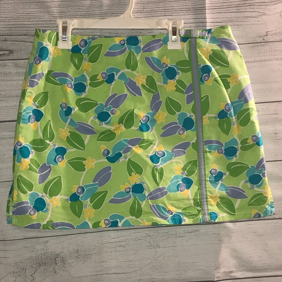Lilly Pulitzer Dresses & Skirts - 🦄Rare Vintage Lilly Pulitzer Toucan Skirt🦄